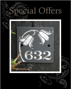 Discounted Slate Sign from Joule Designs
