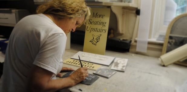 Slate Signs by Paula of Joule Designs