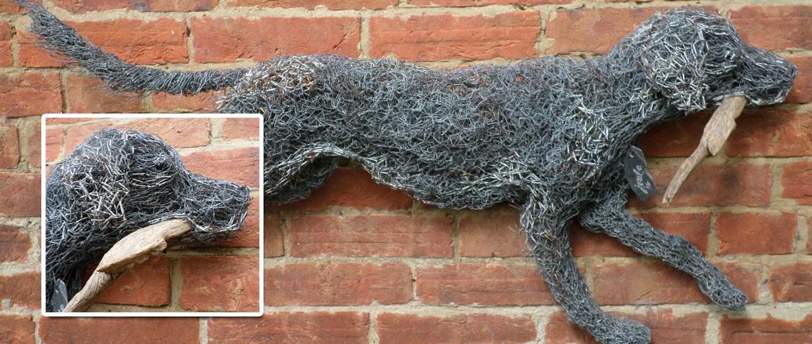 Wire Sculpture Artists Dorset, Unique Wire Sculptures